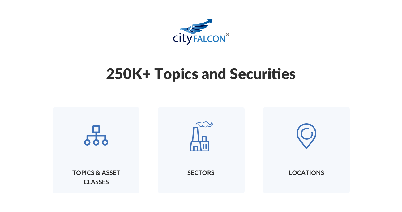 CityFALCON: Personalised Financial & Business News