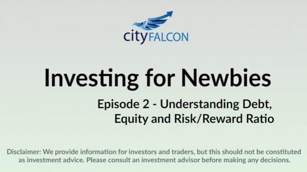 Investing for newbies Det equity and risk reward ratio