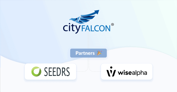 CityFALCON, Seedrs, and WiseAlpha partnerships